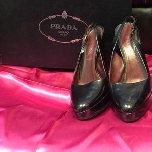 Prada Sling Backs